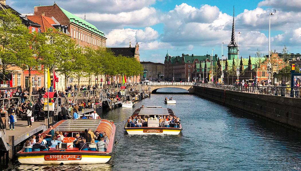 Passeio de barco em Copenhagen