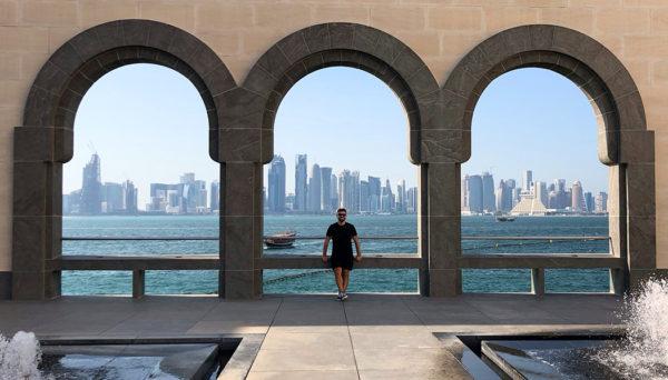 Conexão em Doha
