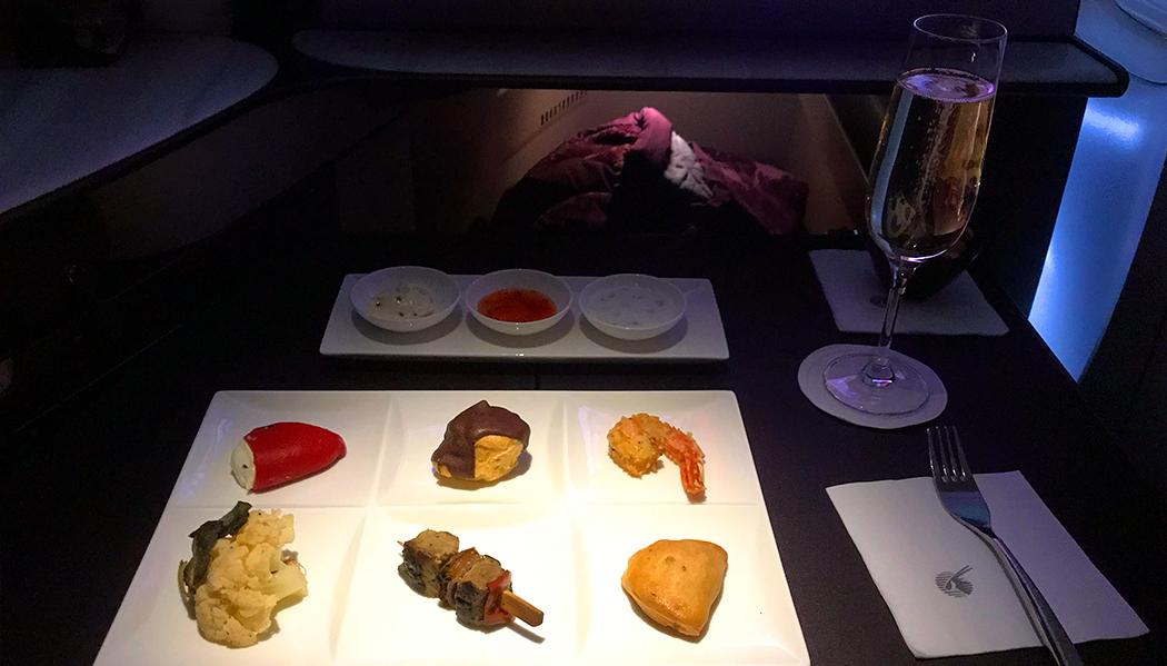 Voando para Doha