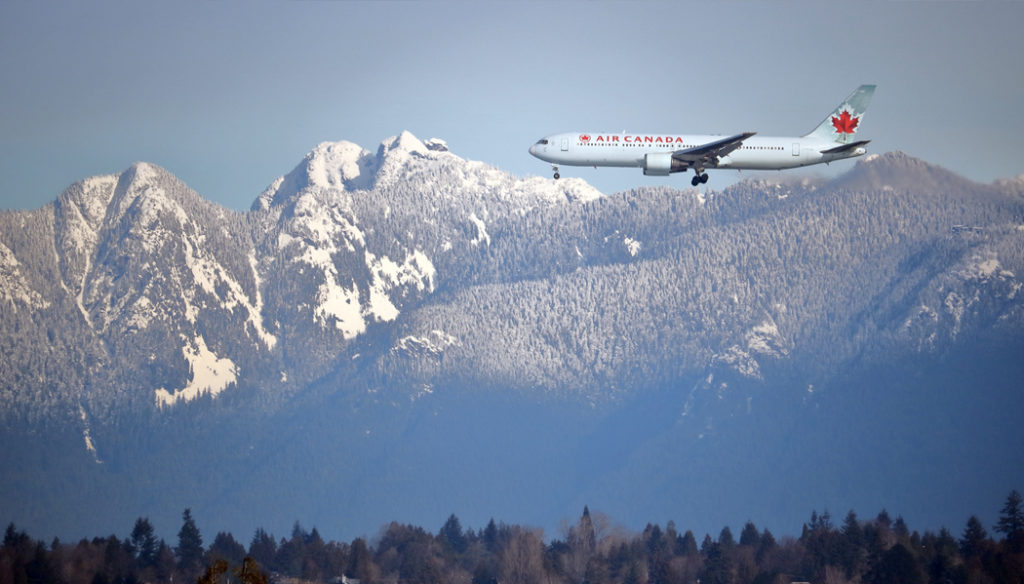 imigração no Canadá aeroporto de Vancouver