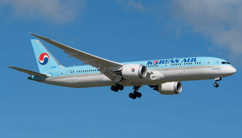 Como é voar com a Korean Air no Boeing 787