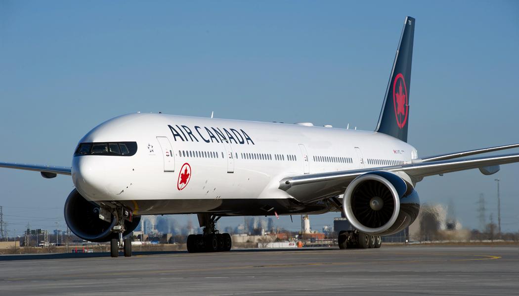 Air Canada de Vancouver a Toronto