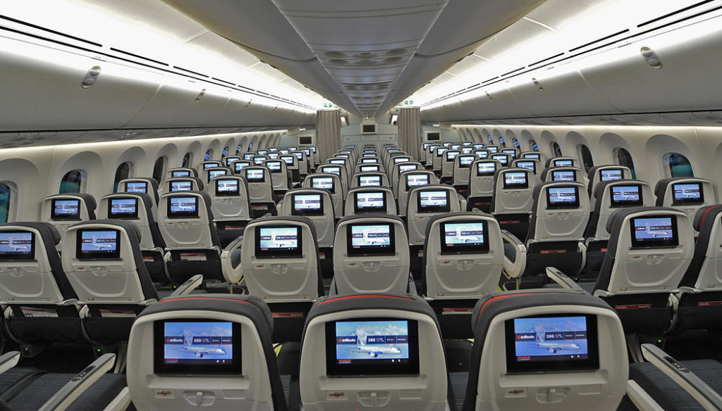 Como é voar com a Air Canada