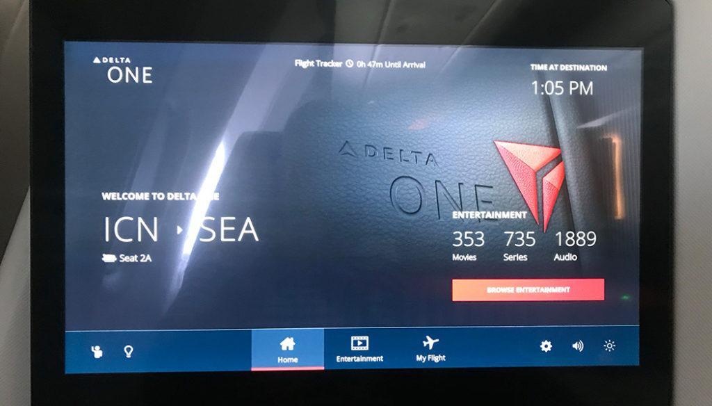 Como é voar com a Delta