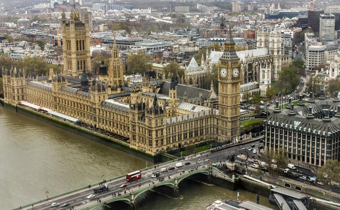 A vista da London Eye