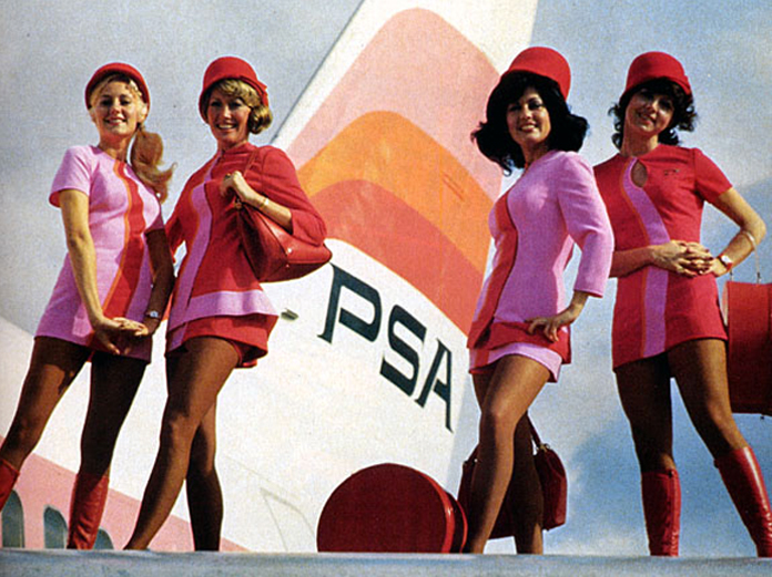 Pacific Southwest Airlines, anos 70