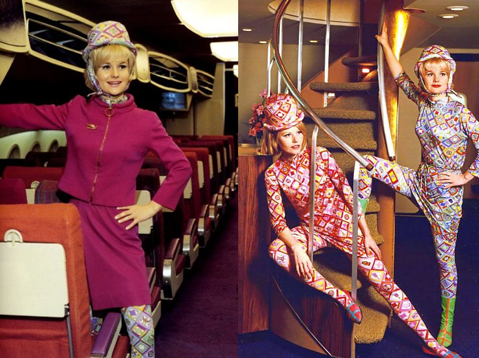 Braniff Airlines, anos 70