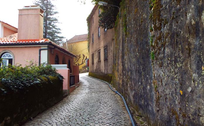 As típicas ruas de Sintra
