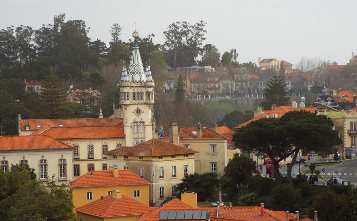 A cidade de Sintra, não parece que saiu de histórias de contos de fadas.