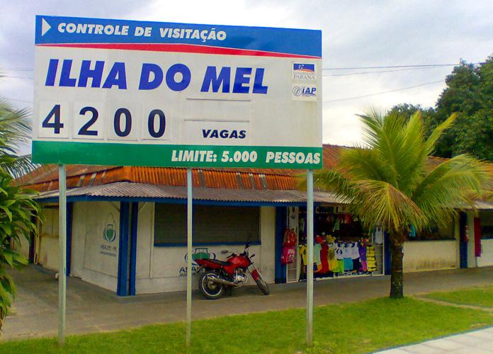 Como chegar na ilha do Mel