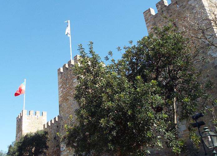 O Castelo de São Jorge