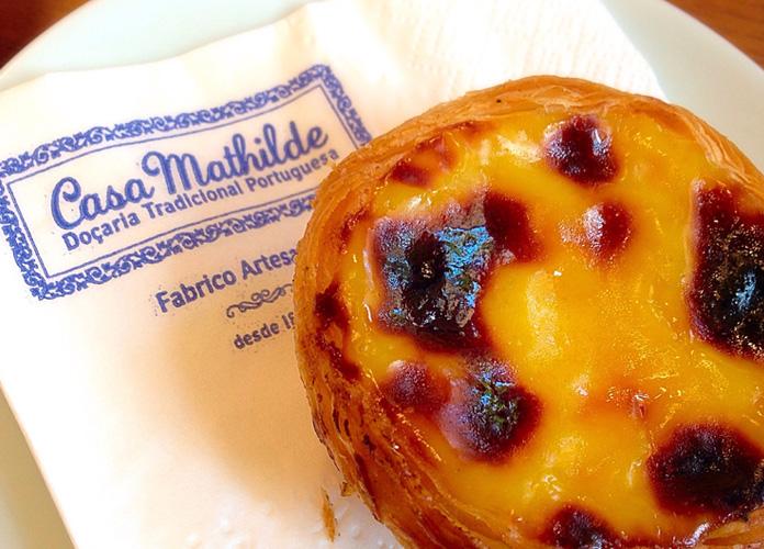 Pausa para um café com pastel de natal da Casa Mathilde.