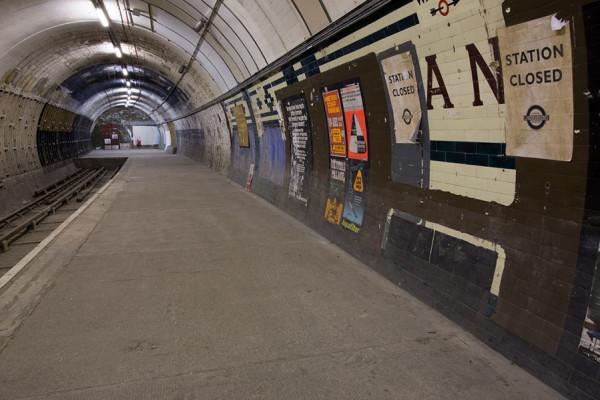 subterrâneo de Londres túneis abandonados de Londres