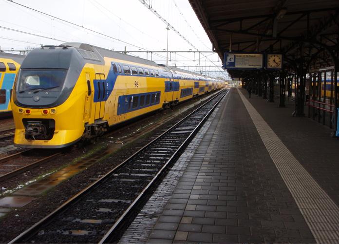 Facinho chegar de trem