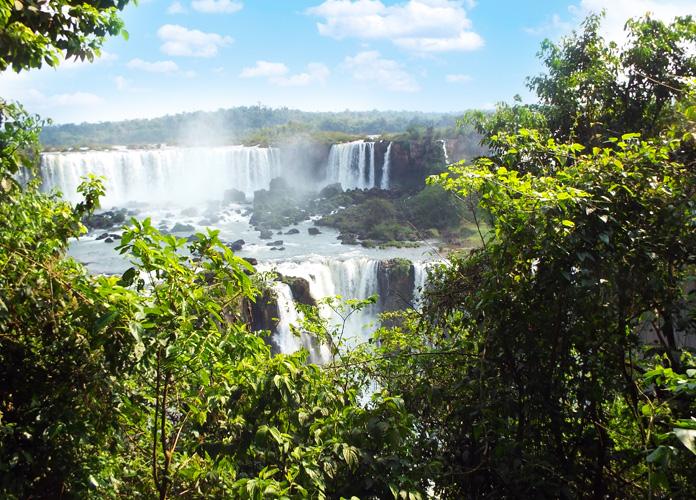 As Cataratas do Iguaçu