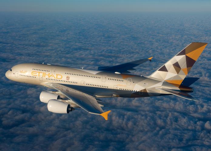 Airbus A380 da Etihad (foto: Airbus)