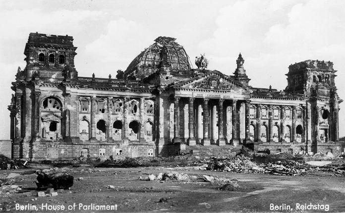 Reichstag em 1945