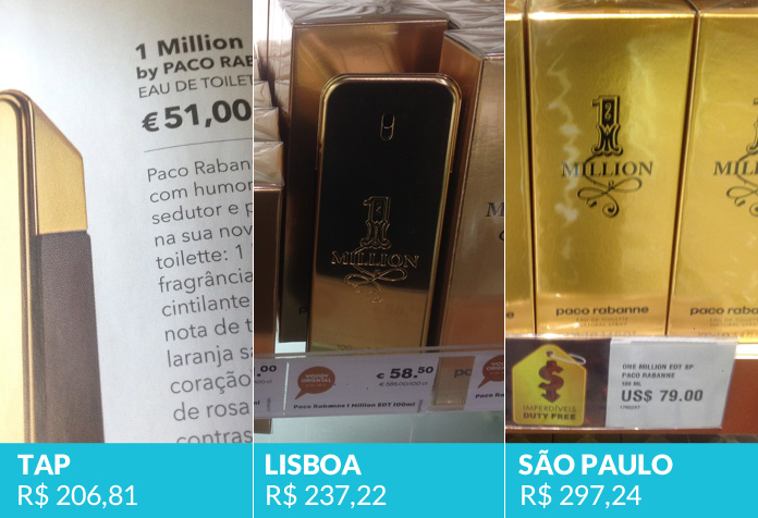 One Million, Paco Rabanne