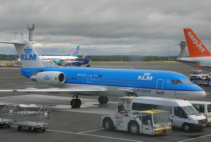 O pequeno valente Fokker 70