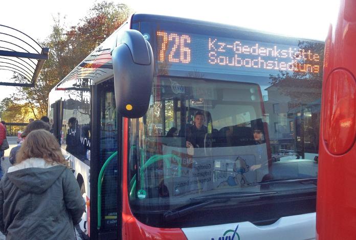 E o ônibus 726, é o mesmo tanto para a ida, quanto para a volta