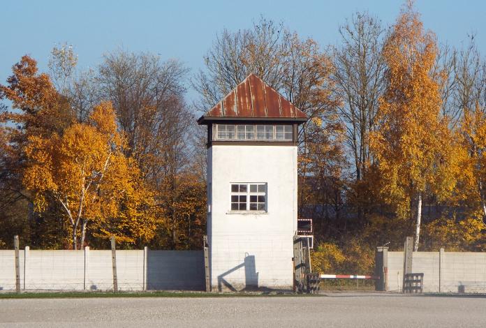 Uma das várias torres de vigilância