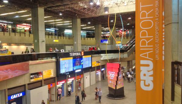 mudanças no Aeroporto de Guarulhos