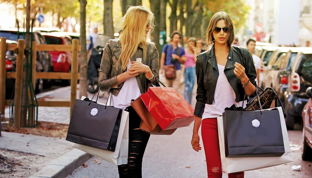 viajar sem fazer compras