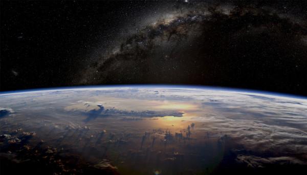 imagens ao vivo do espaço