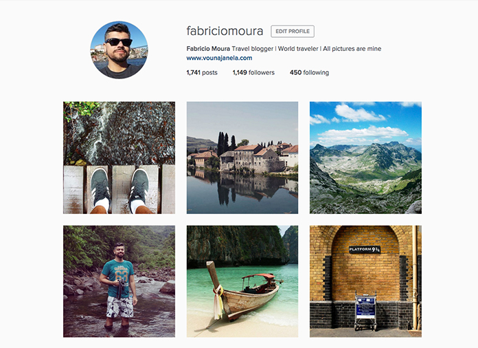 Meu instagram é legal, segue lá @fabriciomoura
