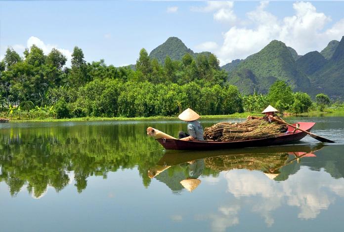 Cena típica do Vietnã