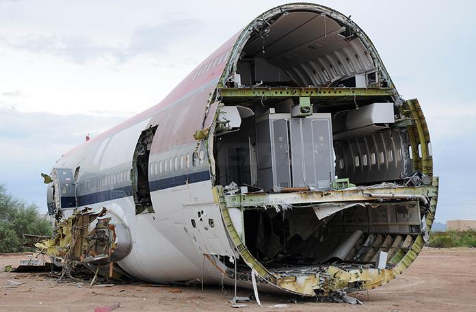 Já esse Boeing 747 virou lata de refrigerante (Foto: John Padgett - Airliners.net)