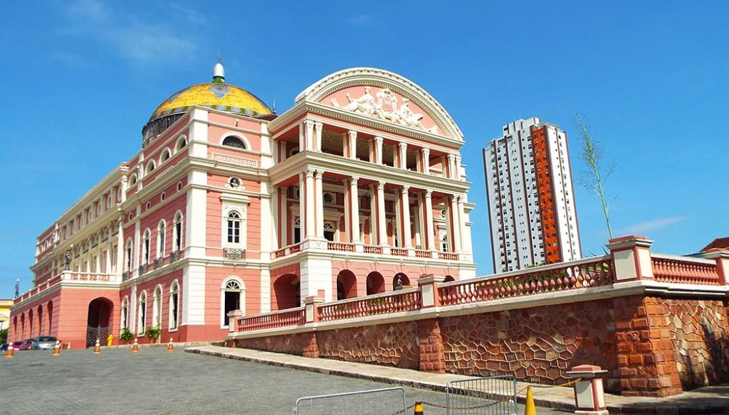 Teatro Amazonas coisas para fazer em Manaus