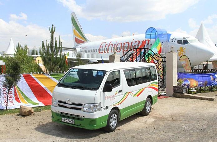 O 737 da Ethiopian que virou restaurante