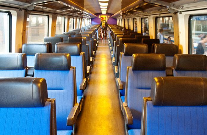 Interior da segunda classe