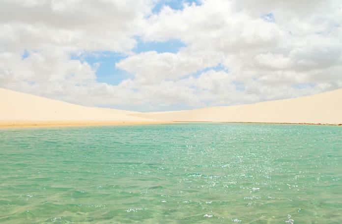 Lagoa esmeralda