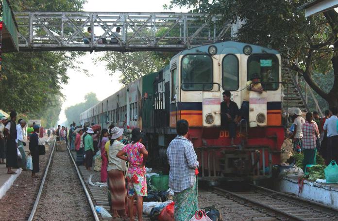 O trem da volta