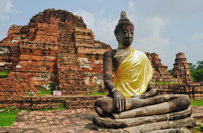 Um dos muitos Budas