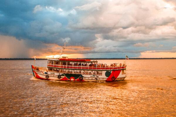 Passeios de barco em Belém