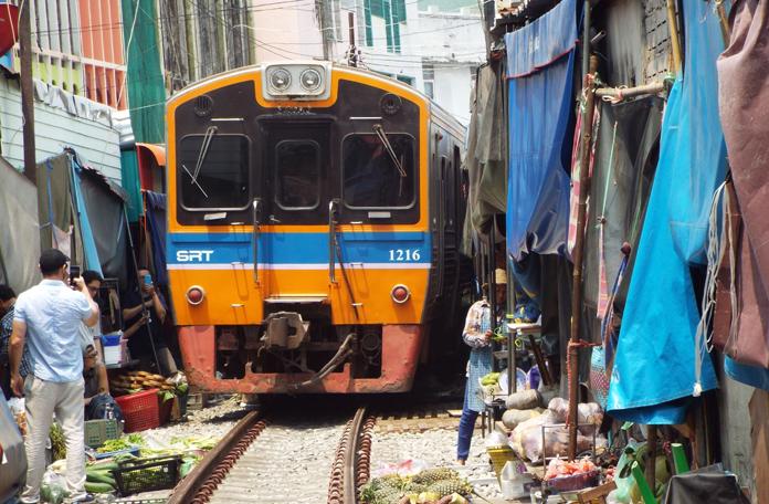 Mercado do Trem de Maeklong