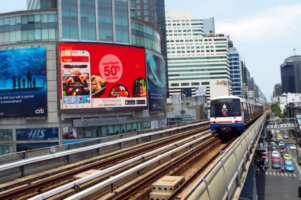 Kuala Lumpur para Bangkok como usar o metrô de Bangkok