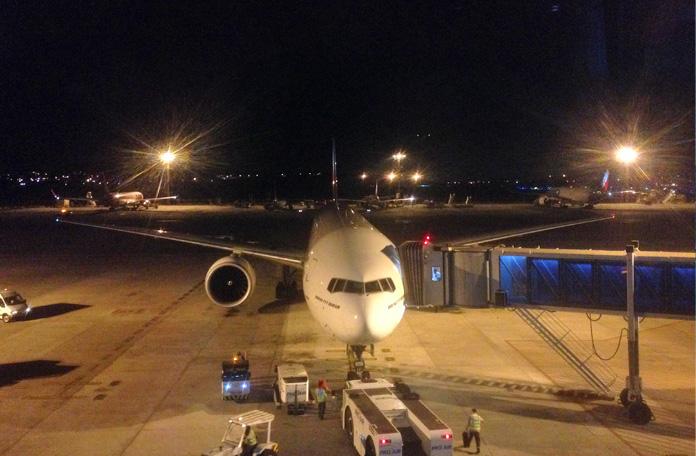Boeing 777-300 de São Paulo para Dubai