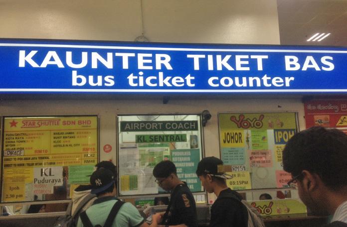 Balcão de venda de passagens