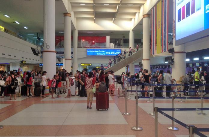 Check-in em Phuket