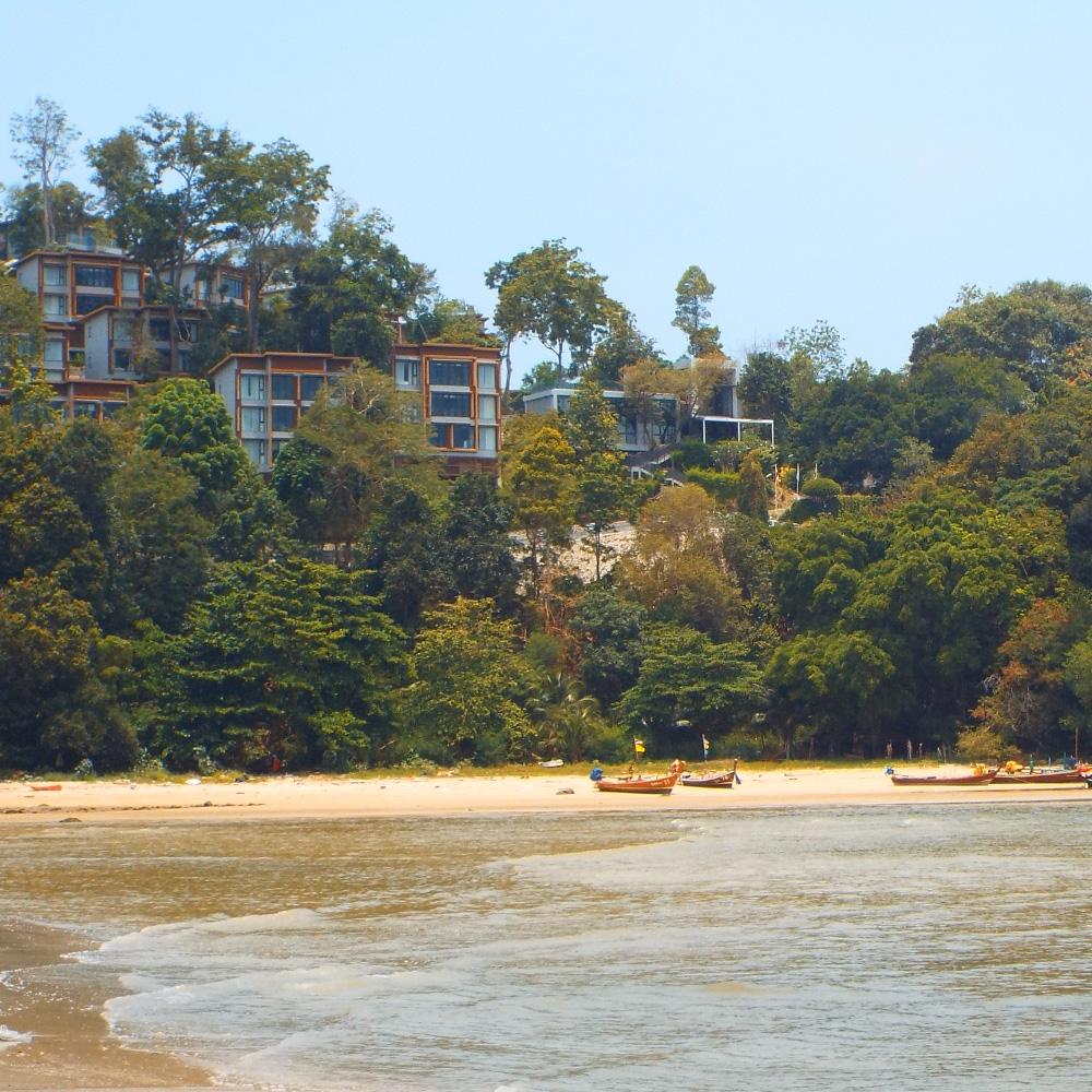 Essa foi a parte mais atingida da Patong Beach