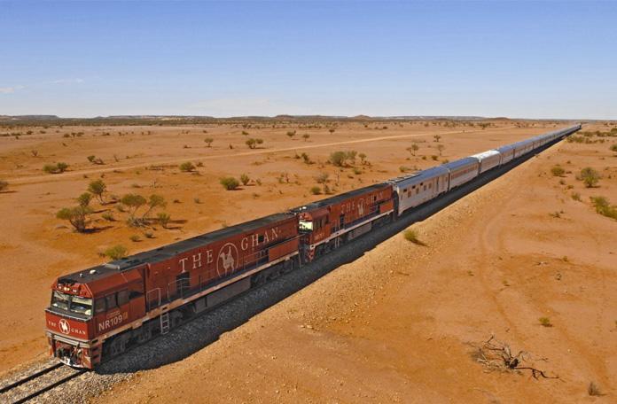 10 viagens de trem: Brisbane a Longreach