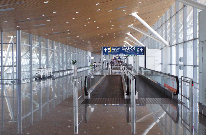 Corredores do KLIA