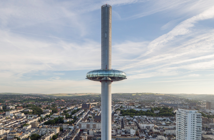 A British Airways i360