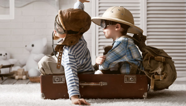 viajar com crianças