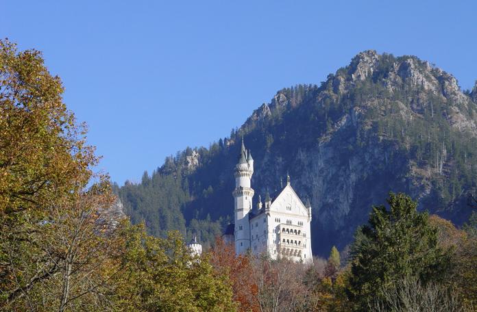 Na subida até o castelo