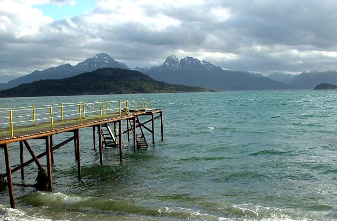 Um dos lagos